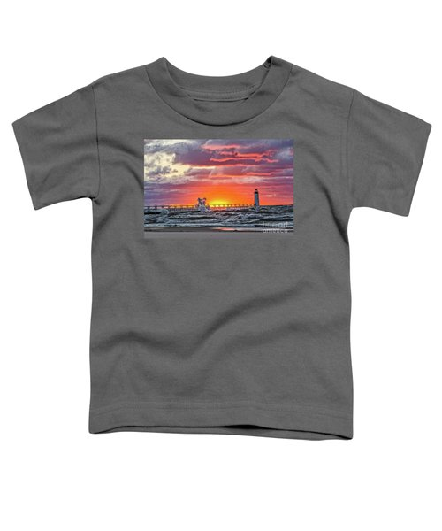 At The Beginning Of The Sunset Toddler T-Shirt