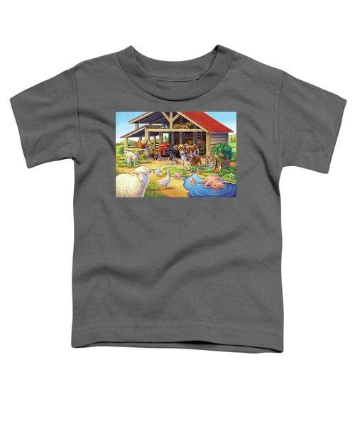 At The Farm Toddler T-Shirt