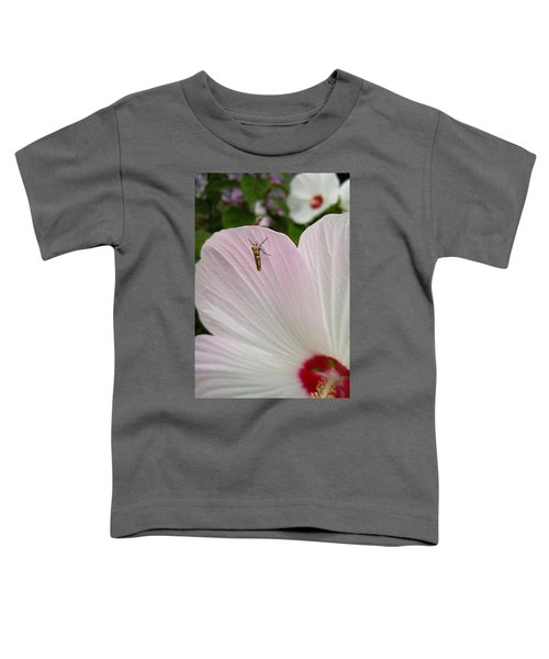 Toddler T-Shirt featuring the photograph Atteva Aurea 1 by Carl Young