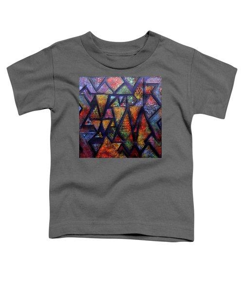 Attractive Mosaic  Toddler T-Shirt