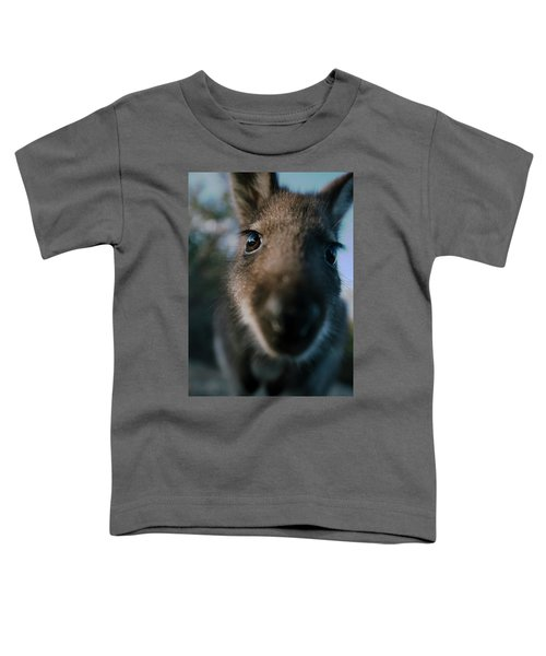 Australian Bush Wallaby Outside During The Day. Toddler T-Shirt