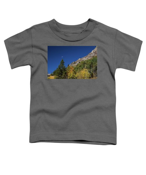 Toddler T-Shirt featuring the photograph Autumn Bella Luna by James BO Insogna