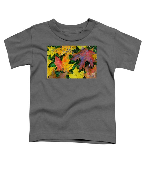 Autumn Leaves Toddler T-Shirt