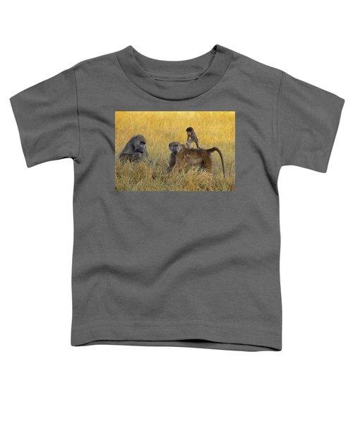 Baboons In Botswana Toddler T-Shirt