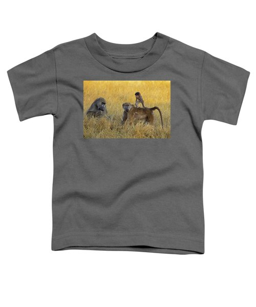 Baboons In Botswana Toddler T-Shirt