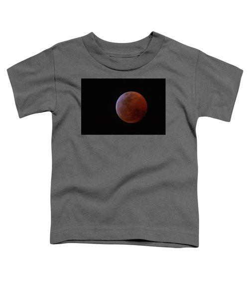 Bahamian Super Blood Wolf Moon Toddler T-Shirt
