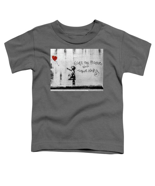 Banksy Balloon Girl Fight The Fighters Toddler T-Shirt