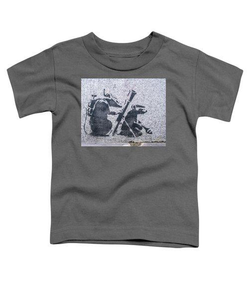 Banksy Bazooka Rats Toddler T-Shirt