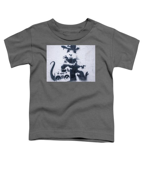 Banksy's Gansta Rat Toddler T-Shirt