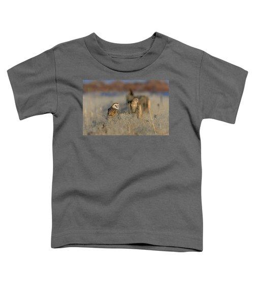 Barn Owls 9 Toddler T-Shirt