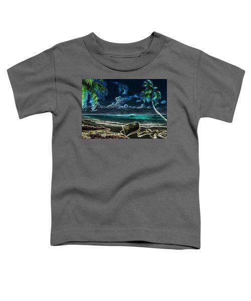 Beach At Night Toddler T-Shirt