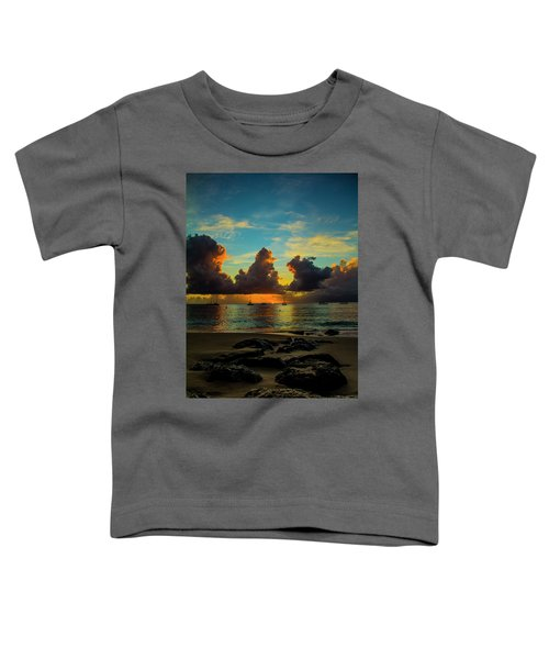 Beach At Sunset 2 Toddler T-Shirt