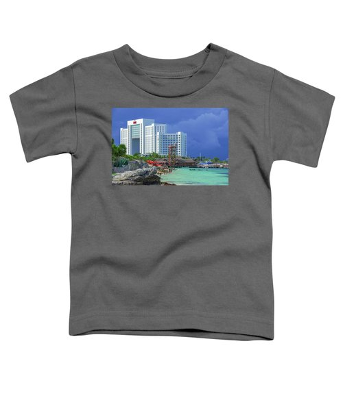 Beach Life In Cancun Toddler T-Shirt