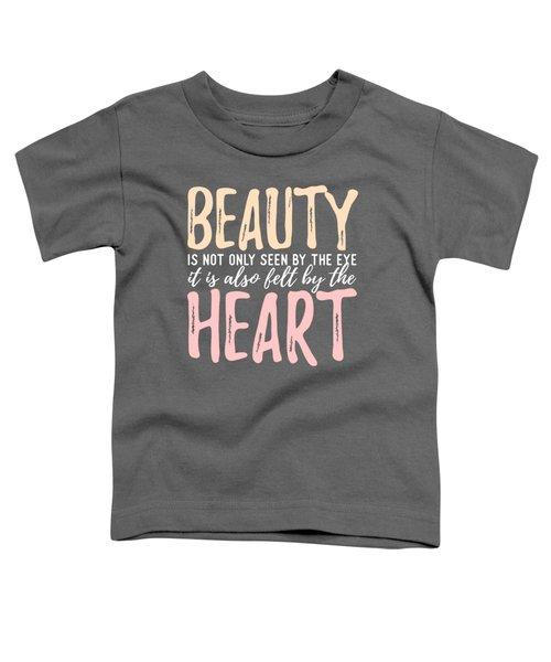 Beauty Heart Toddler T-Shirt