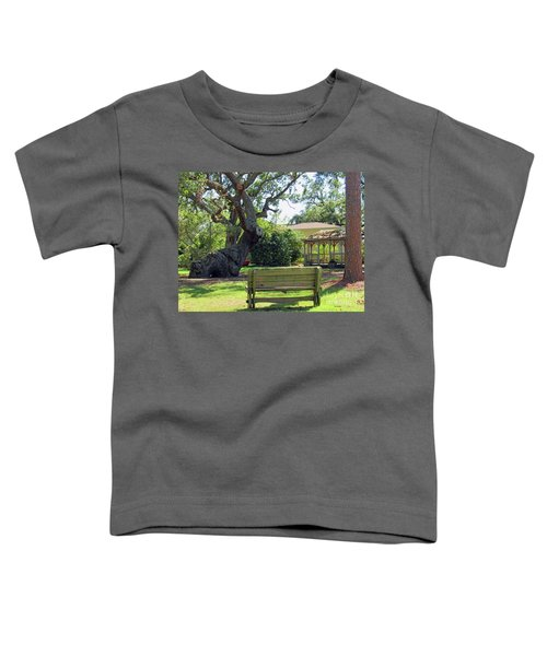 Been Here Awhile Tree In Park Toddler T-Shirt