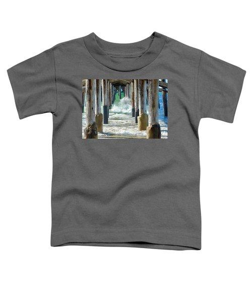 Below The Pier Toddler T-Shirt