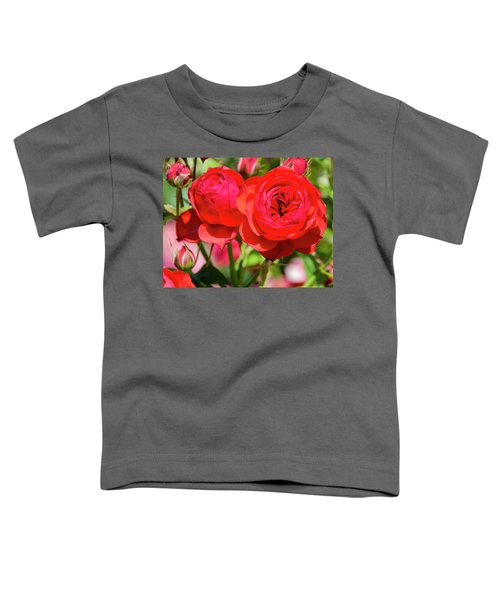 Best Buds In Red Toddler T-Shirt
