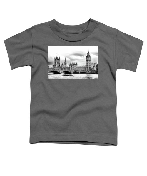 Big Clock In London Soft Toddler T-Shirt