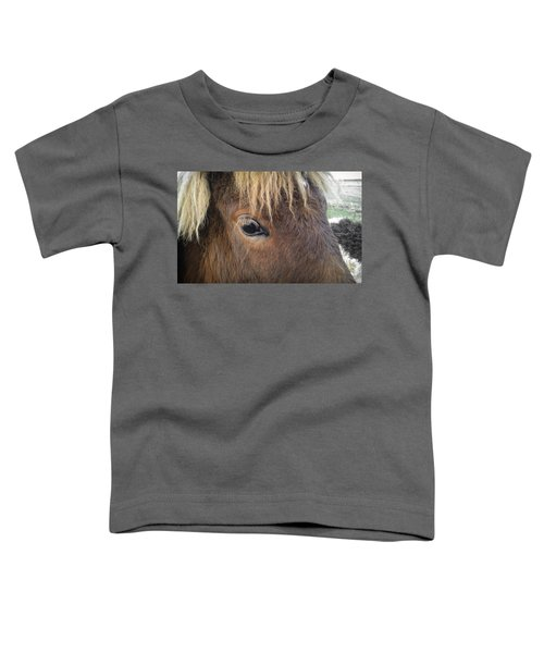 Toddler T-Shirt featuring the photograph Big Eyes by Carl Young