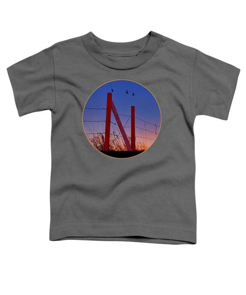 Big Red - Nebraska - Transparent Toddler T-Shirt
