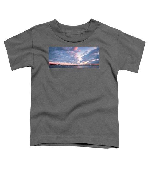 Big Sky Over Portsmouth Light. Toddler T-Shirt