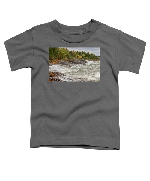 Big Waves In Autumn Toddler T-Shirt