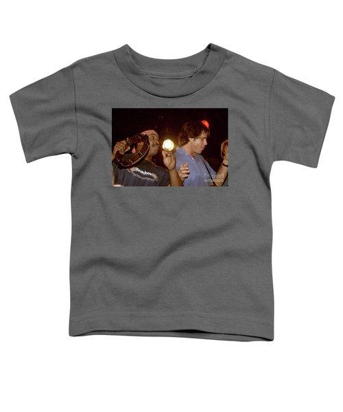Billy Cobham And Bob Weir Toddler T-Shirt