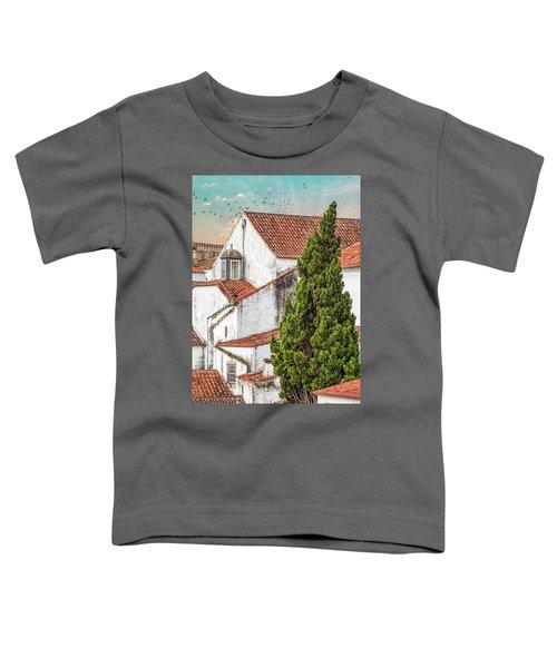 Birds Over Obidos Toddler T-Shirt
