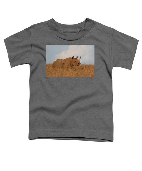 Black Rhino Toddler T-Shirt