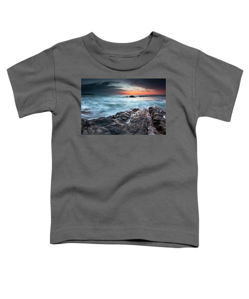Black Sea Rocks Toddler T-Shirt