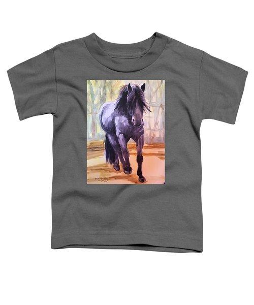 Black Stallion Toddler T-Shirt