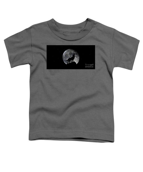 Pre Blood Red Wolf Supermoon Eclipse 873r Toddler T-Shirt