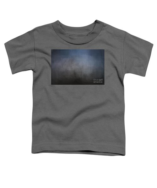 Blue Gray Abstract Background With Blurred Geometric Shapes. Toddler T-Shirt