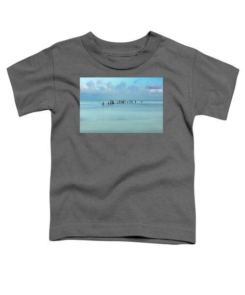 Blue Mayan Sea Toddler T-Shirt
