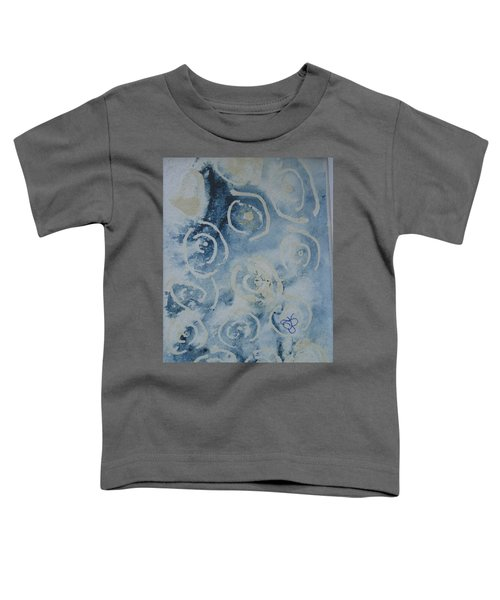 Blue Spirals Toddler T-Shirt