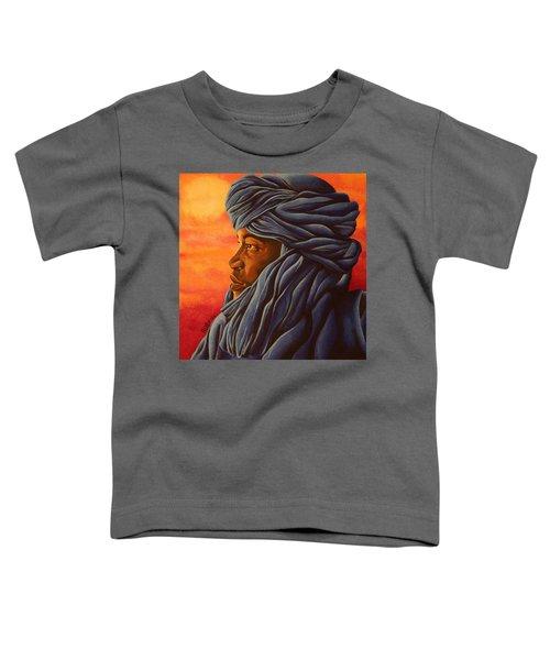 Blue Tuareg Toddler T-Shirt