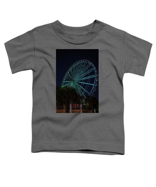 Blue Wheel Toddler T-Shirt