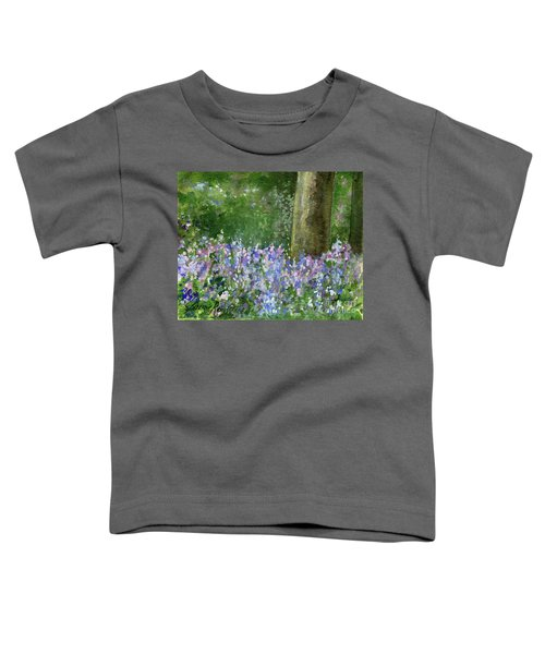 Bluebells Under The Trees Toddler T-Shirt