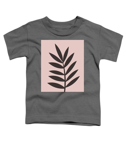 Blush Pink Leaf I Toddler T-Shirt