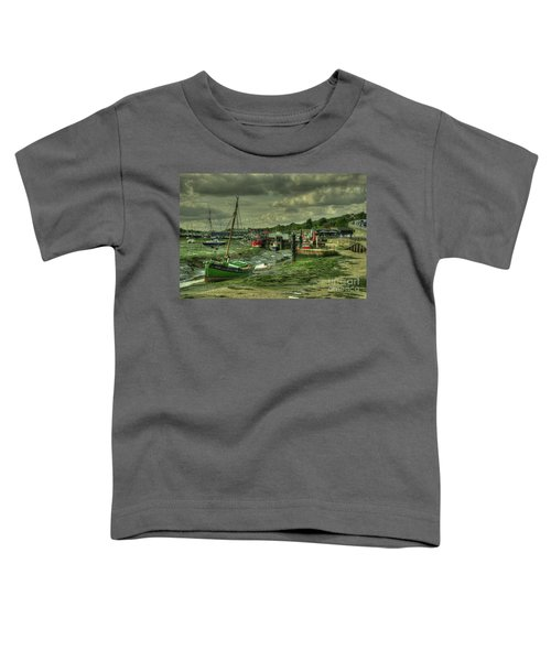 Boats At Leigh On Sea  Toddler T-Shirt