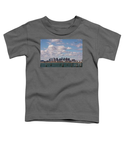 Boston Cityscape Toddler T-Shirt