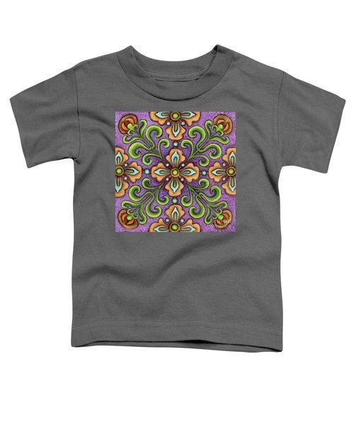 Botanical Mandala 10 Toddler T-Shirt