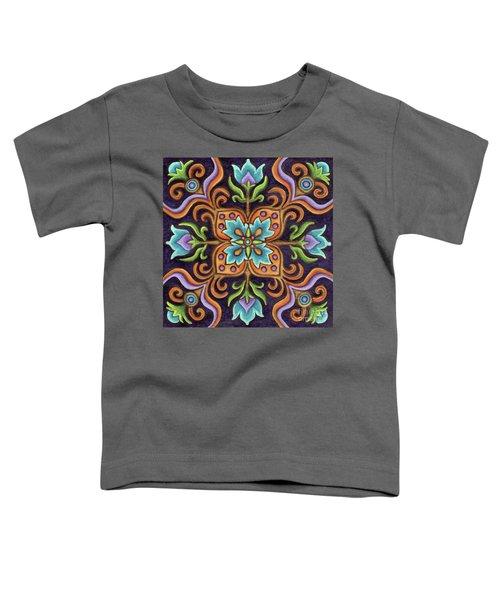 Botanical Mandala 12 Toddler T-Shirt