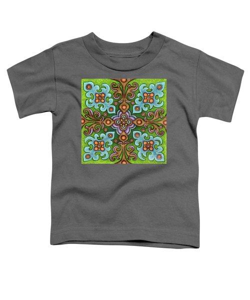 Botanical Mandala 4 Toddler T-Shirt