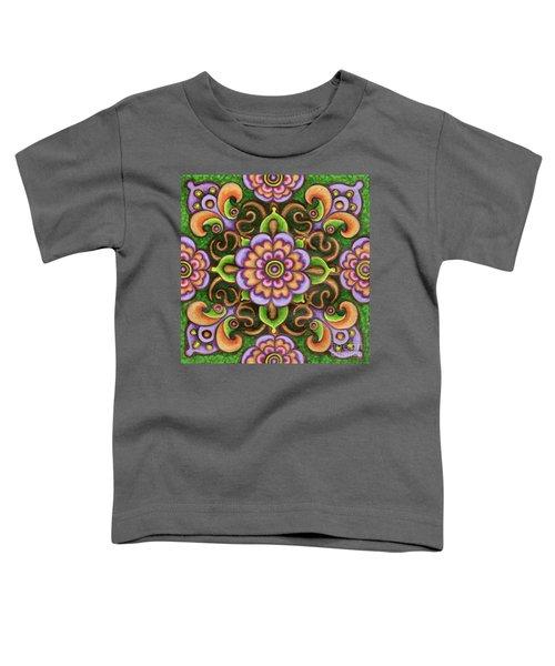Botanical Mandala 5 Toddler T-Shirt