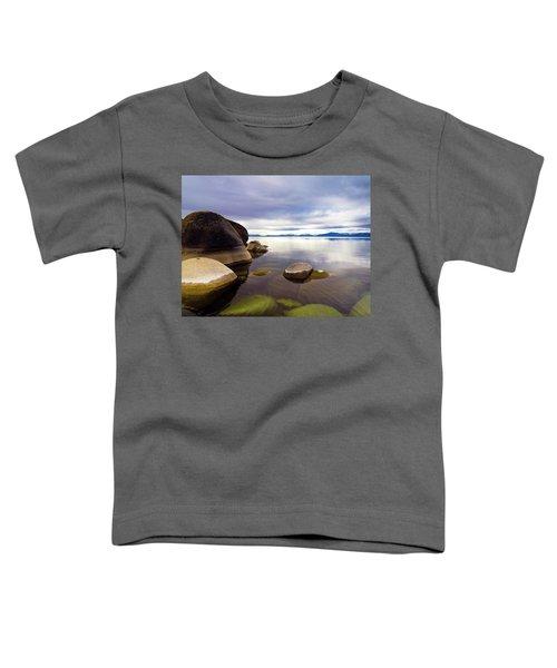 Boulders At Sand Harbor Toddler T-Shirt