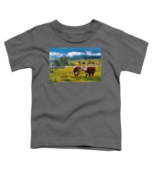 Bovine Love Toddler T-Shirt