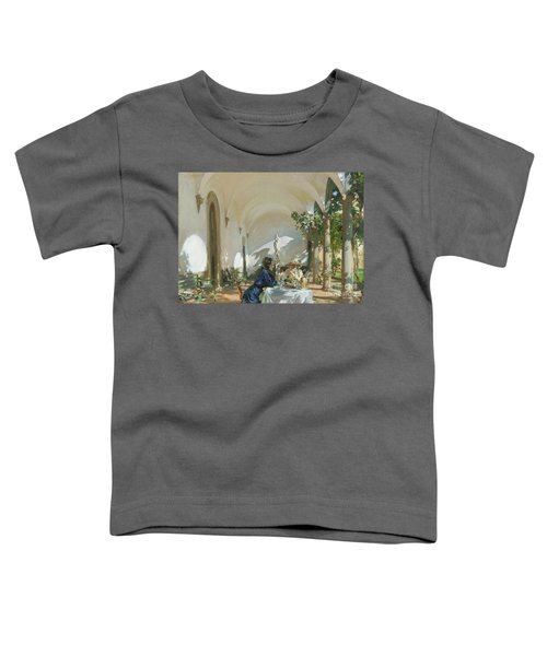Breakfast In The Loggia, 1910  Toddler T-Shirt