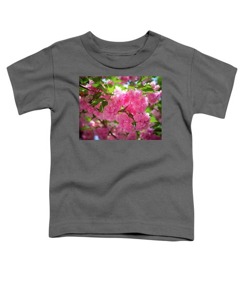 Bright Pink Blossoms Toddler T-Shirt