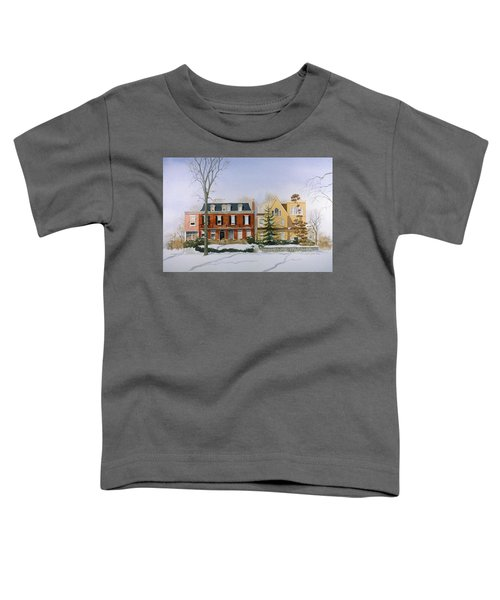 Broom Street Snow Toddler T-Shirt